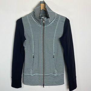 Lululemon Daily Yoga Jacket Stripe Mint Size 4